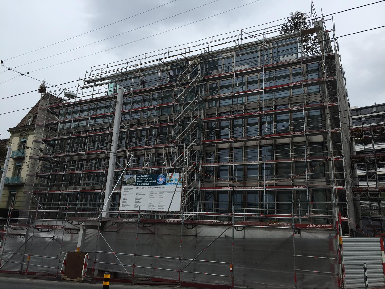 Bâtiment administratif à Lausanne