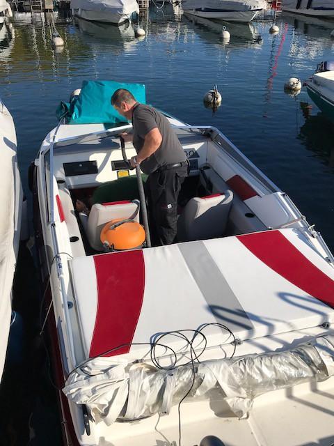Nettoyage de bateaux