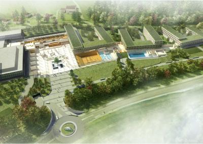 Adjudication : Nouveau complexe EHL Lausanne en fin de chantier